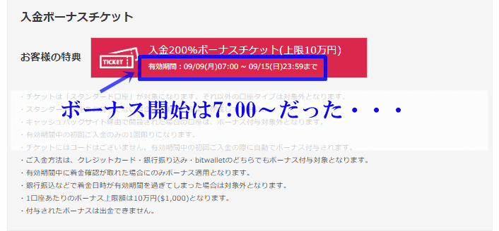 is6comの200%ボーナスに当選