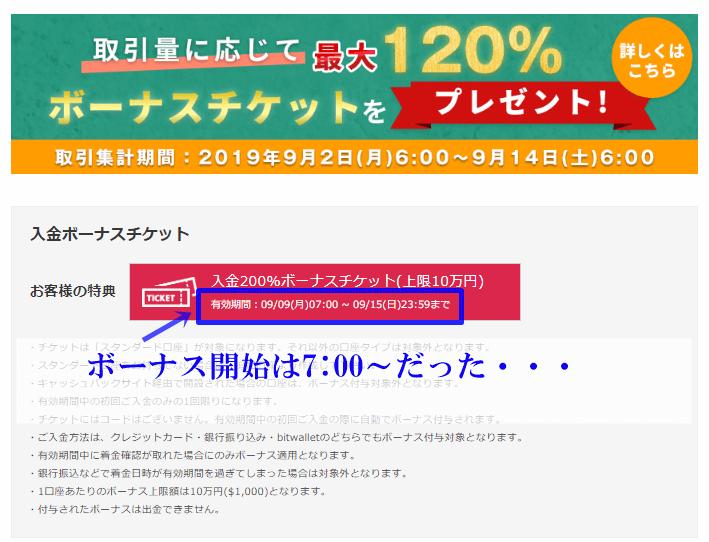 is6comの200%入金ボーナスで1万円チャレンジ