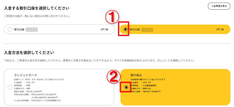 is6FXの銀行振込入金方法(入金手順解説)