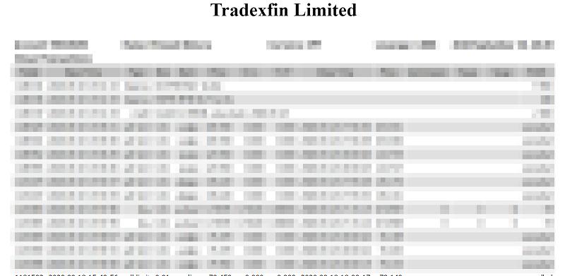 海外FXの確定申告で必須のMT4の年間取引報告書